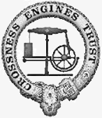 Logo Crossness Engines Trust Greyscale